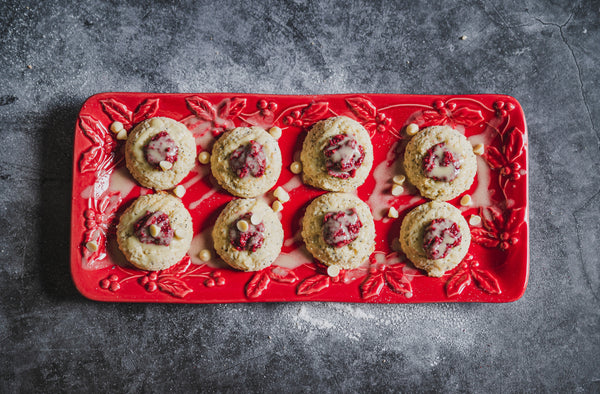Raspberry Poppyseed Thumbprints