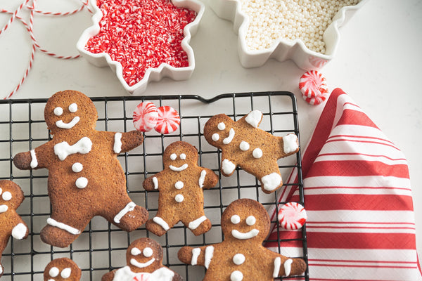 Rolled Gingerbread Cutouts