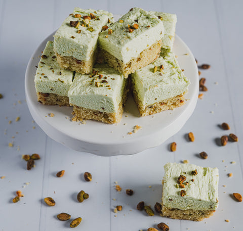 keto pistachio cream bars sugar free low carb