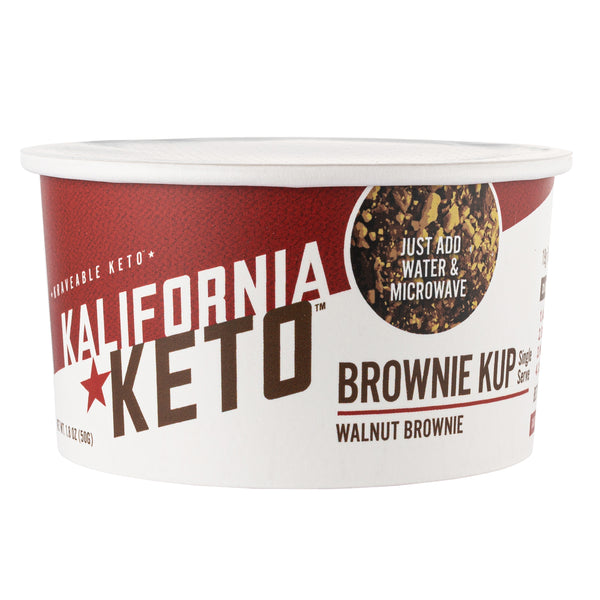 Walnut Brownie Kup