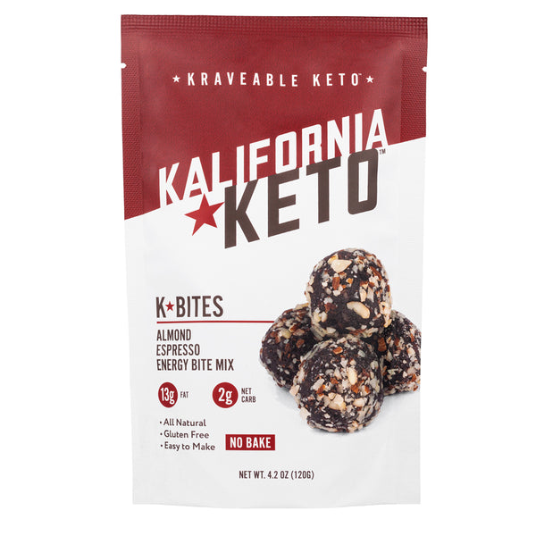 Keto Almond Espresso No Bake Energy Bite Fat Bomb Mix
