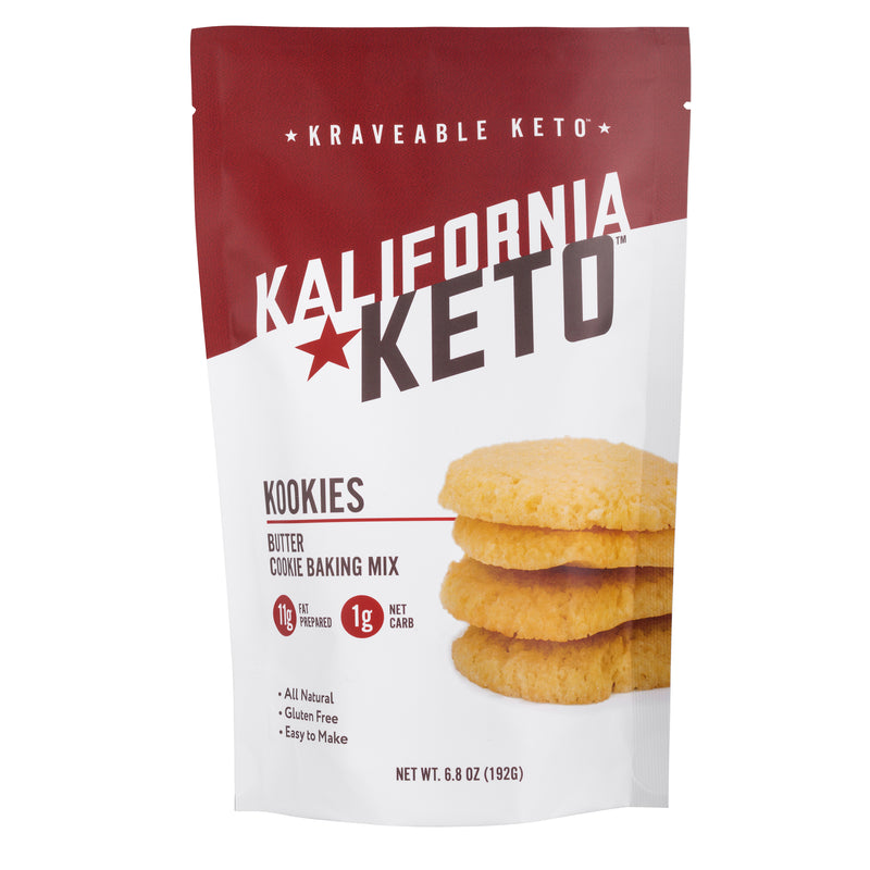 Keto Butter Cookie Baking Mix by Kalifornia Keto