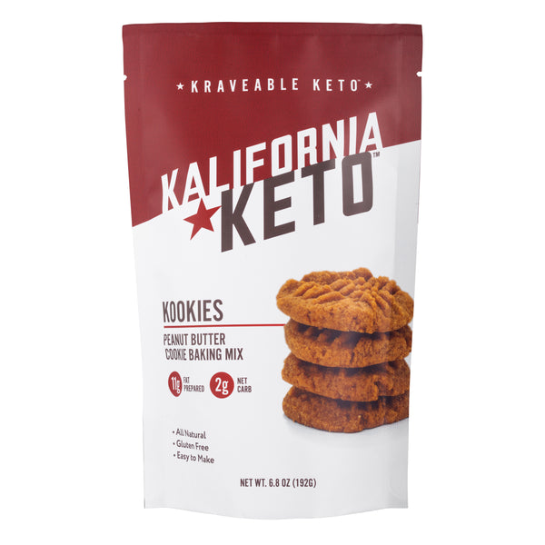 Keto Peanut Butter Cookie Baking Mix by Kalifornia Keto