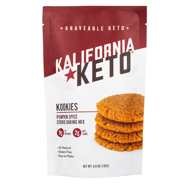 Keto Pumpkin Spice Cookie Baking Mix by Kalifornia Keto