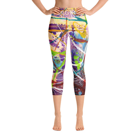 Colorful Comfortable LGTR by xLittleWEAR 1816 Yoga Capri Leggings | xLITTLEwear