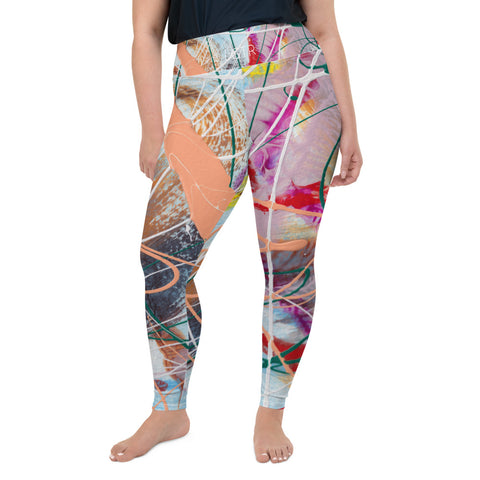 2022 | Women's Stretch Plus Size Classic Yoga Leggings | xLITTLEwear