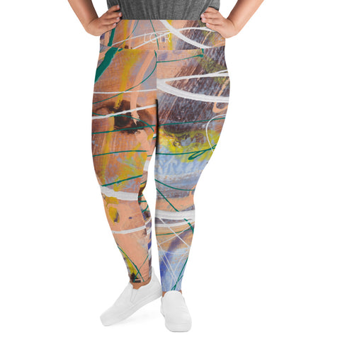1991 | Women's Stretch Plus Size Classic Yoga Leggings | xLITTLEwear