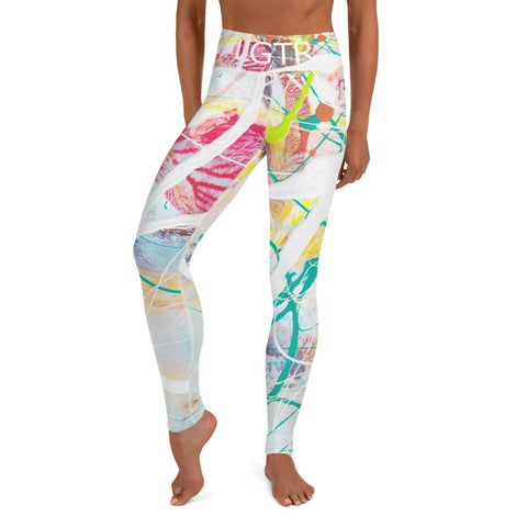 Colorful Comfortable LGTR by xLittleWEAR 1984 Yoga Pant Leggings | xLITTLEwear