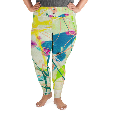 2006 | Women's Stretch Plus Size Classic Yoga Leggings | xLITTLEwear