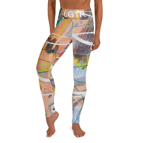 Colorful Comfortable LGTR by xLittleWEAR 1991 Yoga Pant Leggings | xLITTLEwear