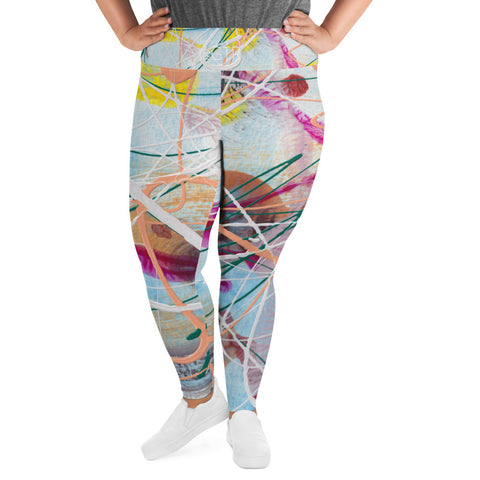 2021 | Women's Stretch Plus Size Classic Yoga Leggings | xLITTLEwear