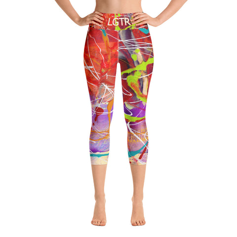 Colorful Comfortable LGTR by xLittleWEAR 1817 Yoga Capri Leggings | xLITTLEwear