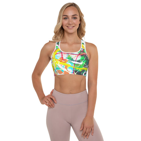 1883L | Padded Sports Bra | xLITTLEwear