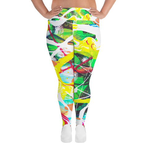1883L | Women's Stretch Plus Size Classic Yoga Leggings