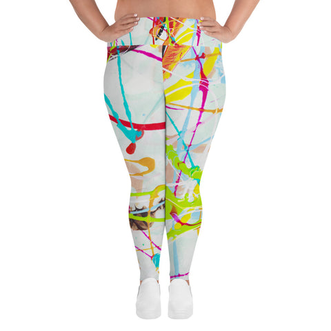 1853L | Women's Stretch Plus Size Classic Yoga Leggings