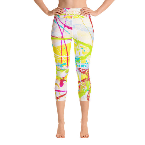 Colorful Comfortable LGTR by xLittleWEAR 1841L Yoga Capri Leggings | xLITTLEwear