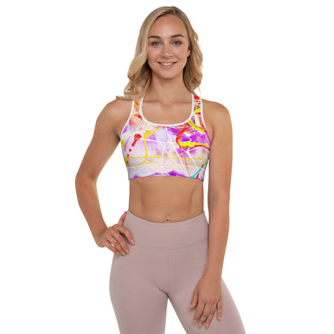 1817L | Padded Sports Bra | xLITTLEwear