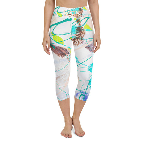 Colorful Comfortable LGTR by xLittleWEAR 1990L Yoga Capri Leggings | xLITTLEwear