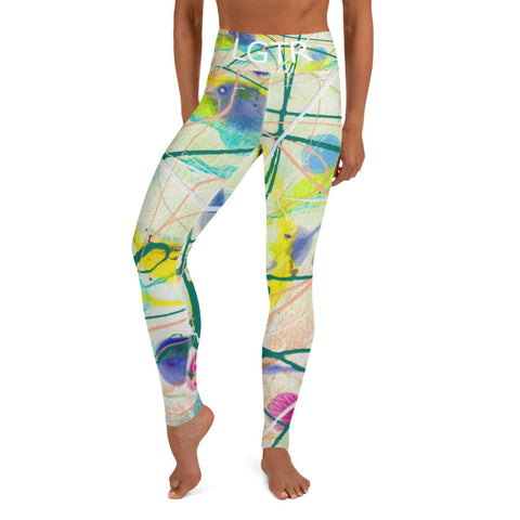 Colorful Comfortable LGTR by xLittleWEAR 2007 Yoga Pant Leggings | xLITTLEwear