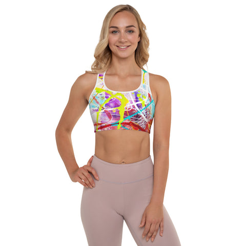 1816L | Padded Sports Bra | xLITTLEwear