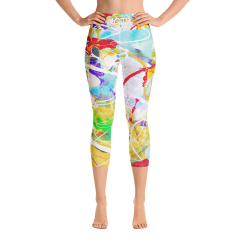 Colorful Comfortable LGTR by xLittleWEAR 1800L Yoga Capri Leggings | xLITTLEwear