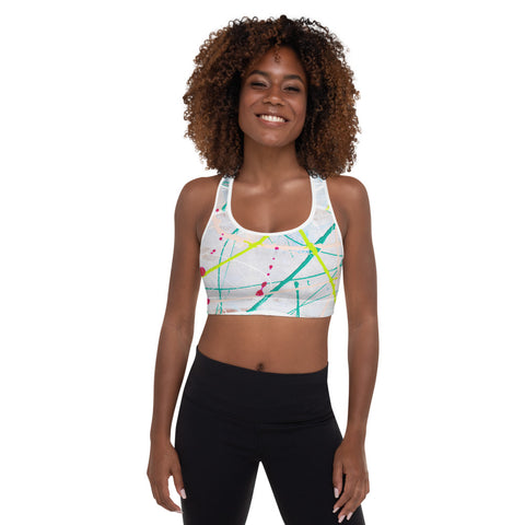 1985L | Padded Sports Bra | xLITTLEwear
