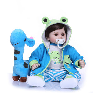 Silicone Soft Body Doll for Toddler
