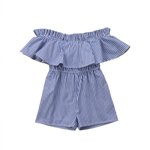 Toddler Baby Girl Clothing Off Shoulder