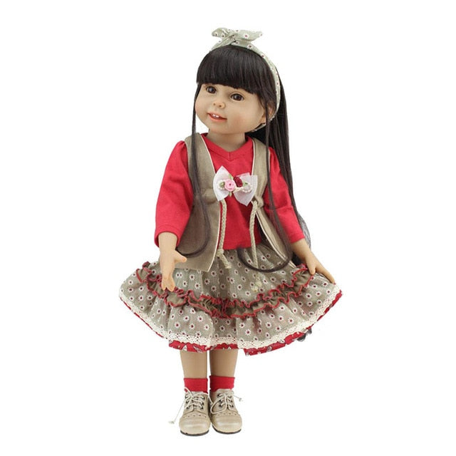 Handmade American Doll Red