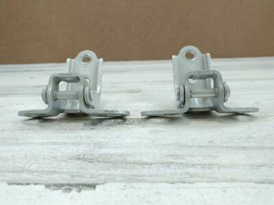 2014 HYUNDAI TUCSON FRONT LEFT DRIVER DOOR UPPER LOWER HINGE SET OF 2 OEM 65637