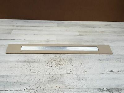 2007-2011 CHEVROLET AVALANCHE 1500 FRONT LEFT DOOR SILL SCUFF PLATE OEM 108506