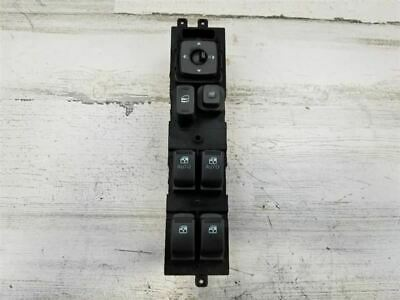 2006-2009 HYUNDAI AZERA FRONT LEFT DOOR LOCK / WINDOW / MIRROR SWITCH OEM 127509