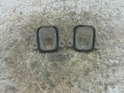 2007-2008 CHEVROLET SUBURBAN 1500 REAR LICENSE PLATE LAMPS OEM 109221
