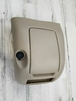 2000-2002 GMC SIERRA 1500 CENTER CONSOLE REAR BACK COVER CUP HOLDER OEM 121257