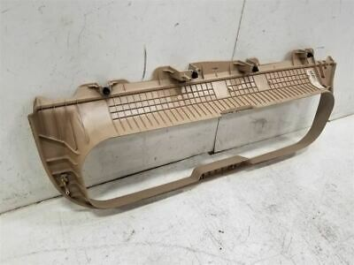 2006-2008 HUMMER H3 TAILGATE BACK WINDOW UPPER FRAME COVER TRIM OEM 130341