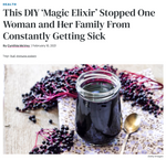 Elderberry Queen featured in Woman's World