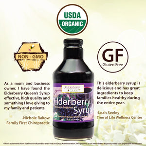 Organic Elderberry Syrup 24oz