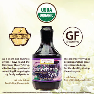 Organic Elderberry Syrup 32oz