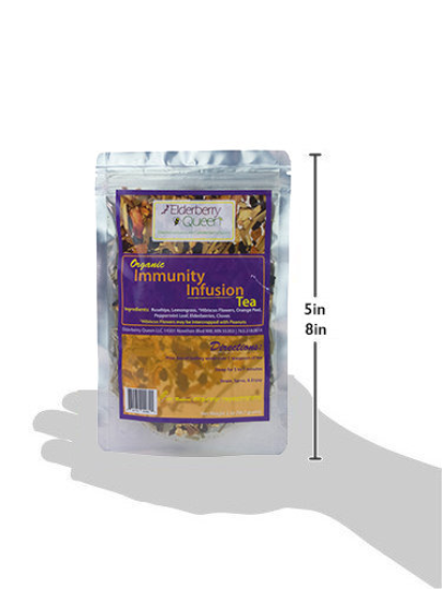 Wholesale: Organic Immunity Infusion Loose Leaf Herbal Tea 2oz - 12 packages/case