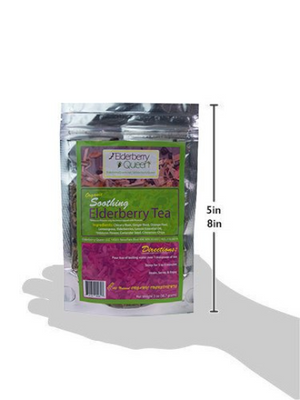 Organic Soothing Elderberry Loose Leaf Tea 2oz