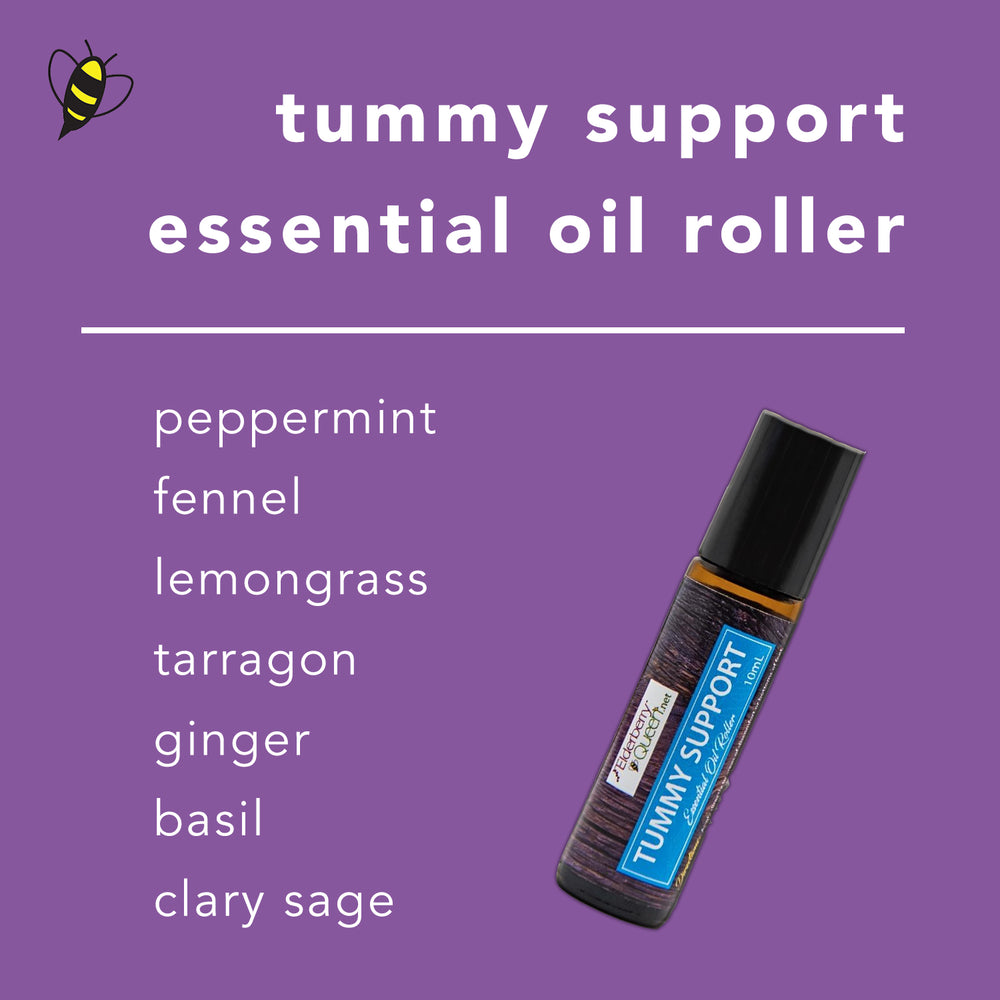 Tummy Support Essential Oil Roller 10mL