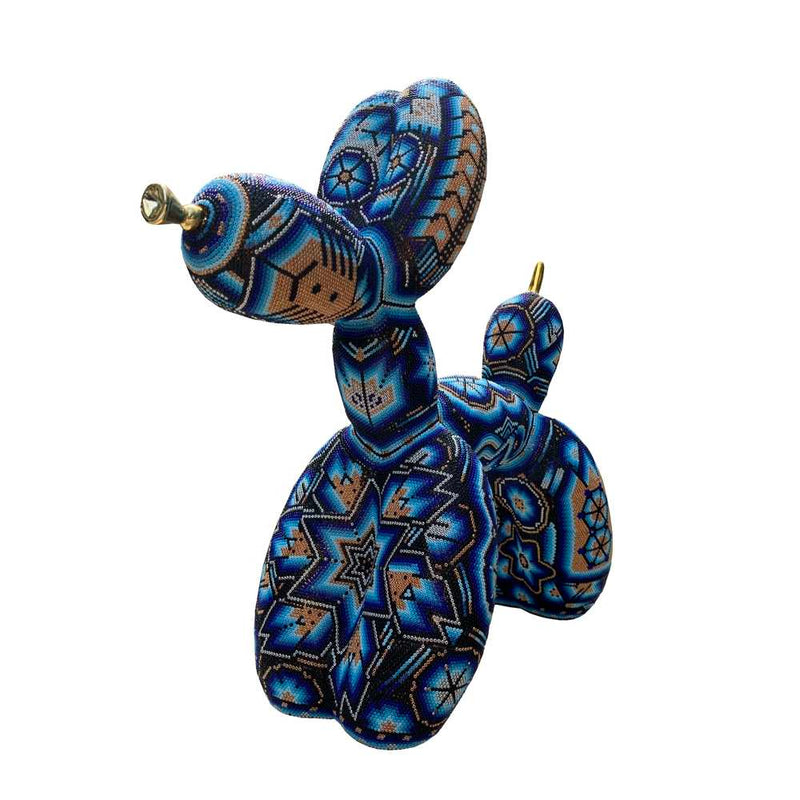 Huichol Balloon Dog
