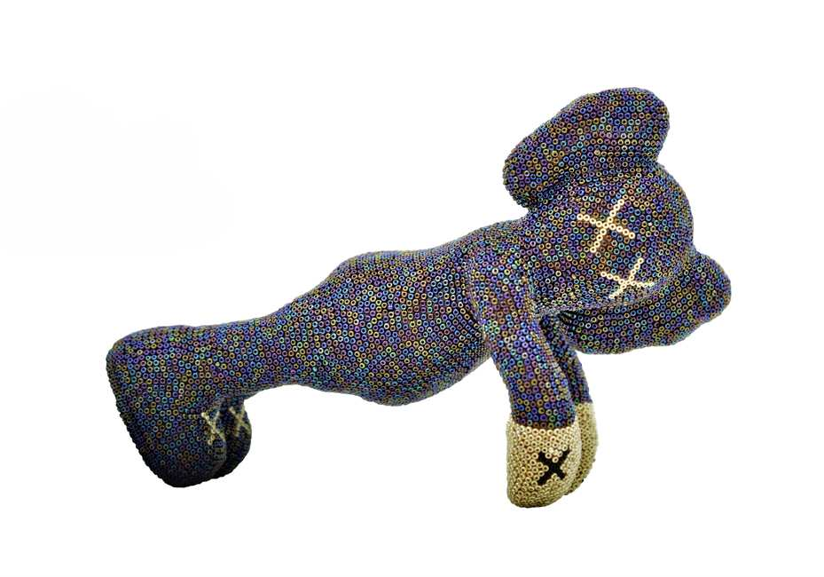 Kaws - Doing the plank by Novae Artis