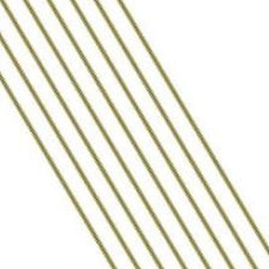"Set of three 1/8"" brass rods (for plat pot stakes), 12 inches long"