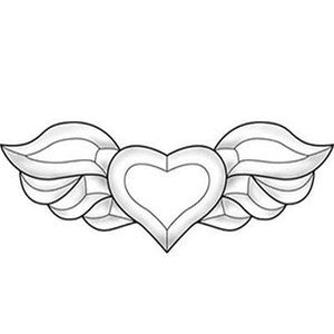 EC251 winged heart bevel cluster