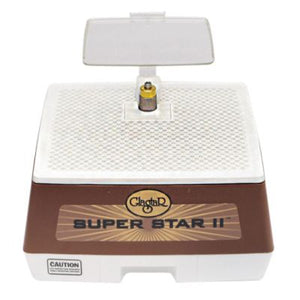 glastar super star II grinder with eye shield and glas-snapper