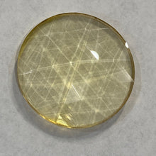 Load image into Gallery viewer, 30mm pale amber faceted jewel