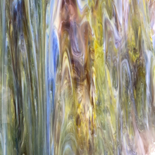 Load image into Gallery viewer, 01479S armstrong clear/opal/light blue/yellow/purple/streaky 9 x 16