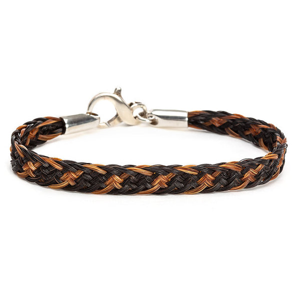 Horsehair bracelet 12 ply ribbon braid