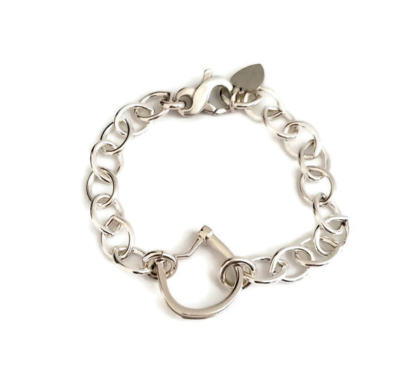 Horseshoe Lobster Clasp Bracelet